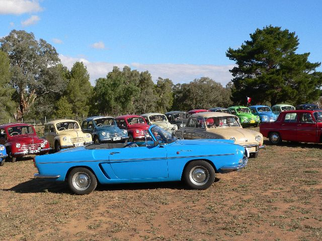 It's hard to believe that the Register began twenty years ago, but that's the period from its inception in 1987 to the 2007 Muster in Cowra, NSW. The story and photos are to be found by clicking on the dot to the left