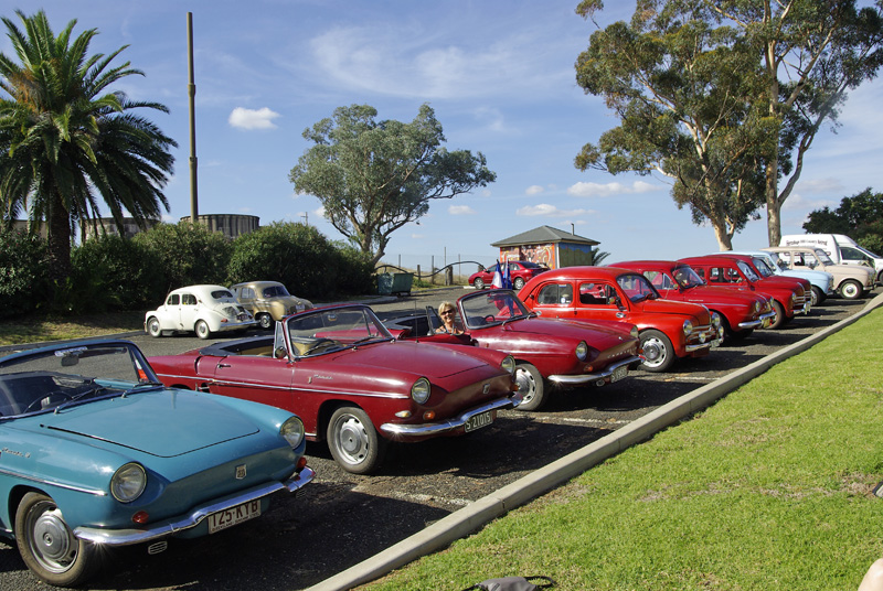 Our 2011 Muster was held in Wellington, central western NSW, where there are some spectacular caves. A large and varied selection of members' vehicles was there, as were many members, friends and supporters, and we had the special privilege of being visited by a very enthusiastic group from the Club Floride et Caravelle of France